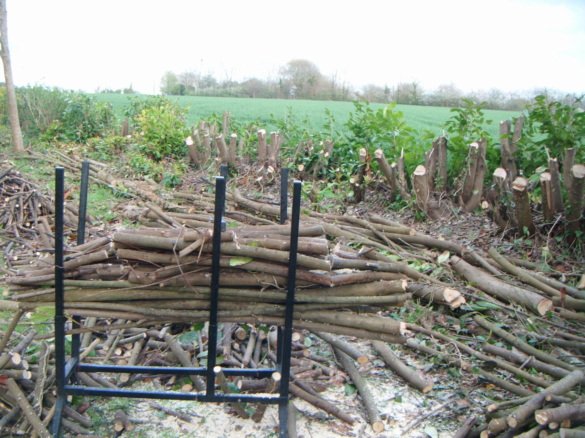 Kerantorec blog des chantiers de gaelle kermen auto - Fabriquer un chevalet pour couper le bois ...