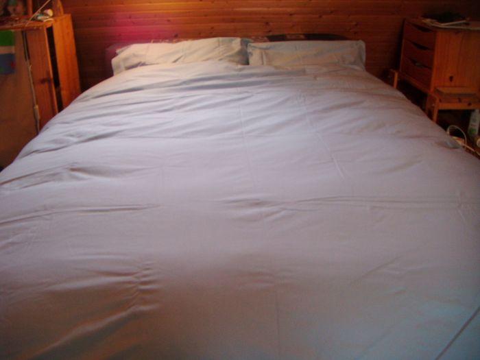 couette sur lit